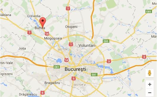 localizare cabinet stomatologic dr dumitriu - buftea